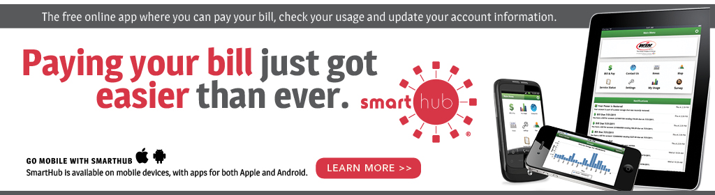 SmartHub: The online app for bill pay, account info, usage and more. Click to learn more.