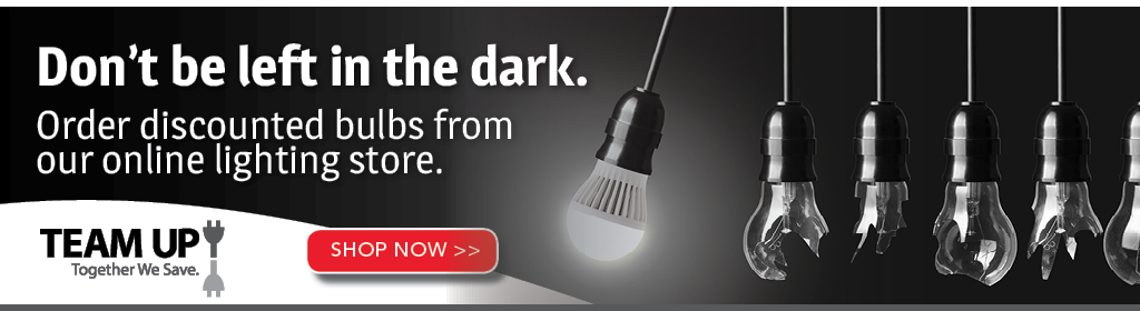 Click here to see how you can save on energy efficient lighting through our online lighting store.